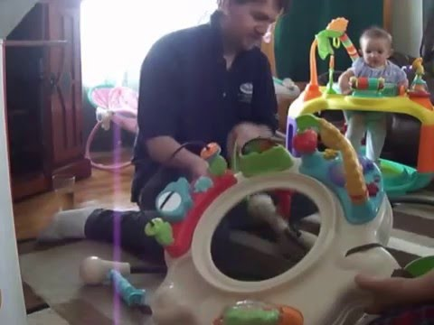 86d285ab421c Fisher-Price - Luv U Zoo Jumperoo assemble - YouTube