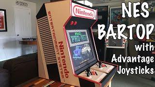 NES Bartop with Advantage Joysticks