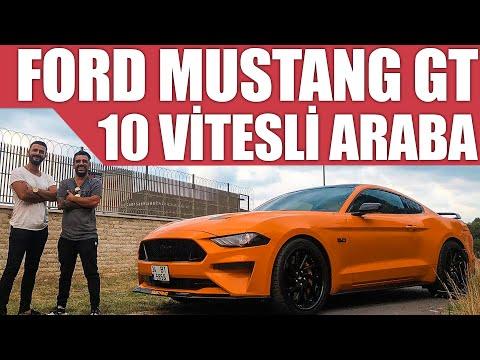 2018 Yeni Ford Mustang GT | 10 Vitesli Araba Olur Mu?