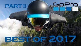 Лучшие экстремальные видео GoPro в 2017, ч.2.