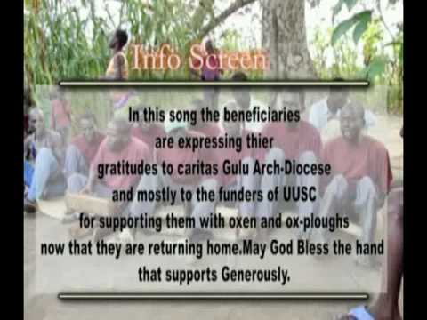 UUSC Oxen Project Thank You!