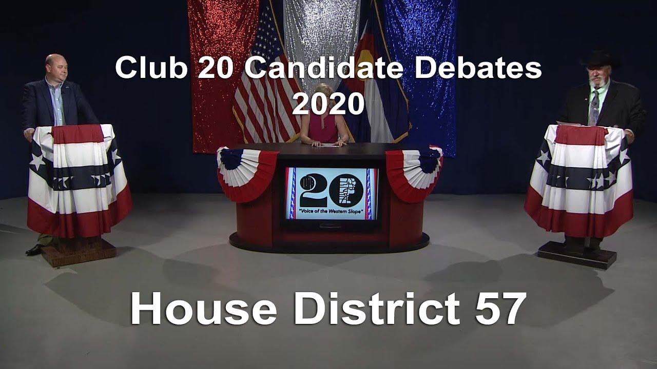 House District 57 Debate