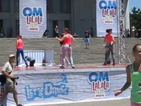 Мастер Класс от Dallas Dance studio на OM LaLaLa Fest 2013! Dansuri in Moldova la Chisinau