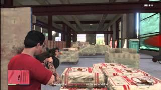 GTA V On Line Missions 106 Hard Labor