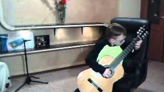 Кубинский танец на гитаре - Classical Guitar «10 лет»
