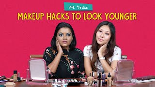 We Tried Makeup Hacks To Look Younger | Ok Tested
