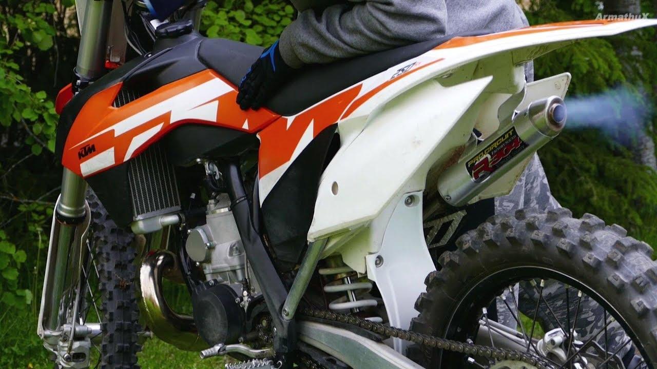KTM SX250 2-Stroke - Pro Circuit R-304 Soundcheck / Coldstart
