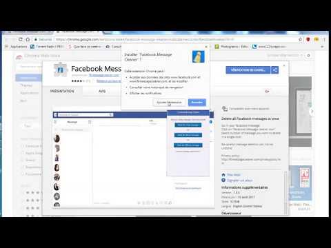 FbMessageCleaner - Delete All Facebook Messages - 2017