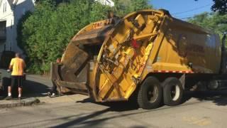 Массачусетс пригоди Частина 4: Капітолій відходів Мак Граніт McNeilus РЛ ручного сміття