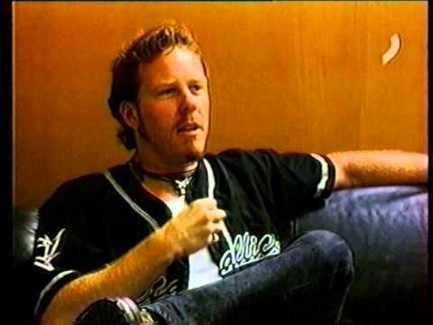 Ritka magyar James Hetfield / Metallica interjú 1997  Bochkor Gábor