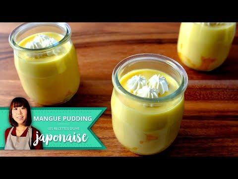 recette-pudding-à-la-mangue-|-les-recettes-d'une-japonaise-|-dessert-facile-japon