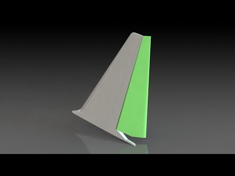 SolidWorks Tutorial : Aircraft Control Surface