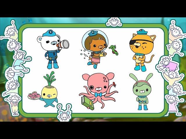 Детские онлайн раскраски с героями из мультфильма ...