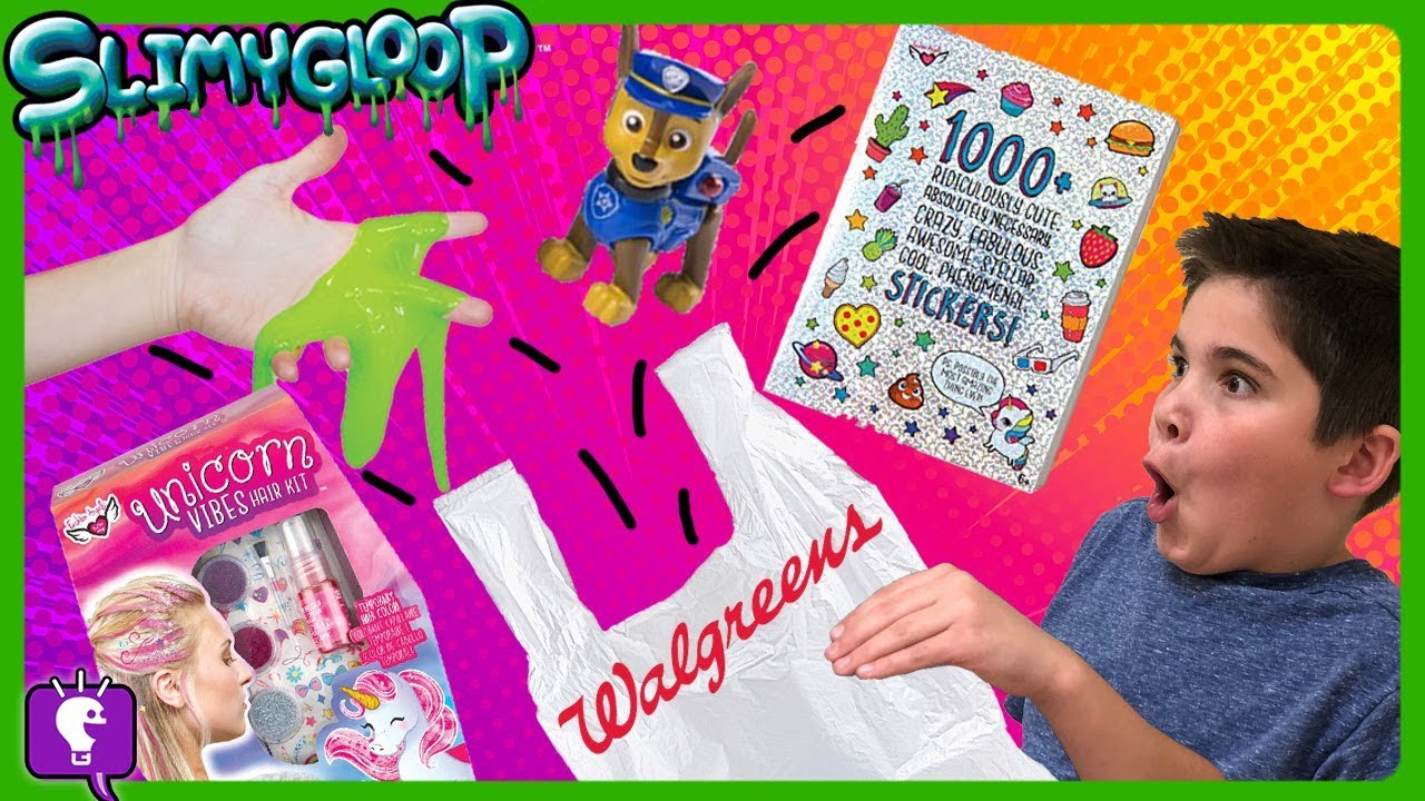 WALGREENS WINTER SHOPPING 2018! Early Presents Ideas from the HobbyKids!!