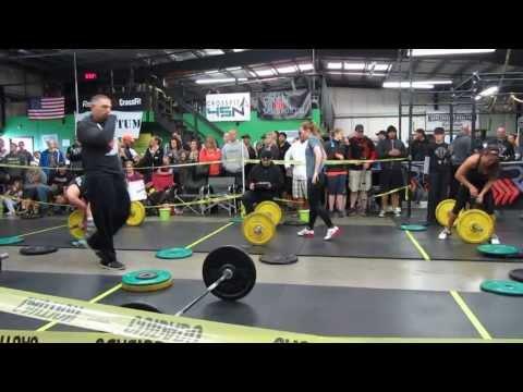 CrossFit Spring Showdown 2013 Jesse WOD 1