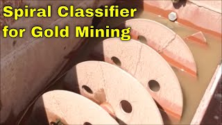 MBMMLLC.com: Spiral Classifier for gold mining and density separation