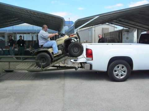 Load  Atv In Truck Bed