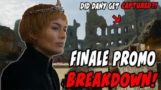 Dany Gets CAPTURED?! Game Of Thrones Season 7 Episode 7 Promo BREAKDOWN!