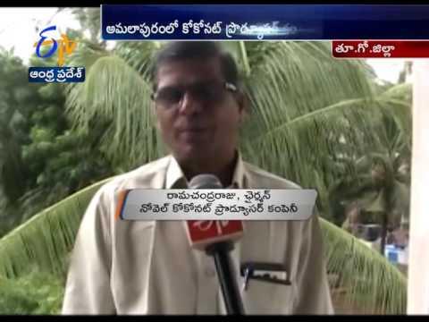 Coconut Producers Meet Held In Amalapuram