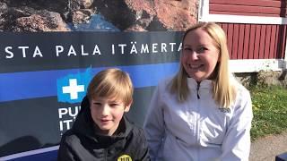 Emilia ja Albert: Uimista ja ahvenherkkuja, Naantalin Venemessut
