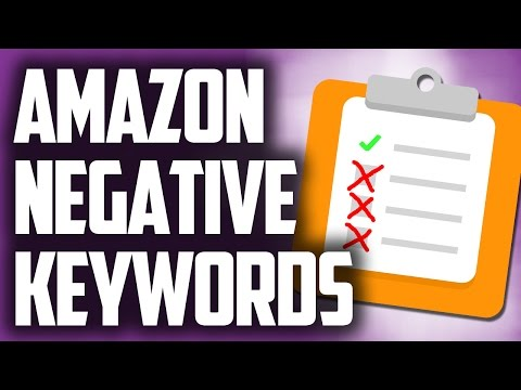 Amazon Negative Keywords - Negative Keyword List For Ecommerce