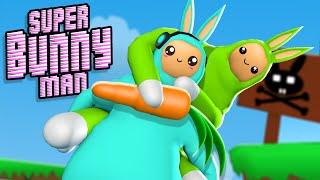 AUTHENTIC VIROU UM COELHO!! - Super Bunny Man