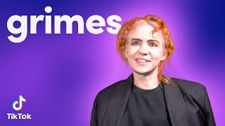 GRIMES shares her AI and Time Travel Knowledge | TikTok