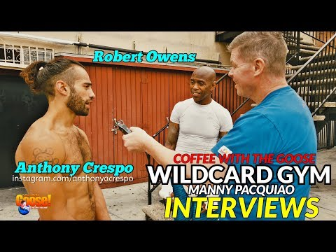 'Pacquiao is Smarter than Thurman!': INTERVIEWING FIGHTERS FROM WILDCARD GYM