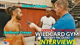 """""""Pacquiao is Smarter than Thurman!"""": INTERVIEWING FIGHTERS FROM WILDCARD GYM"""