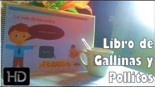 Mi Libro de Gallinas con Pollitos la Tragica Historia Animada  HD
