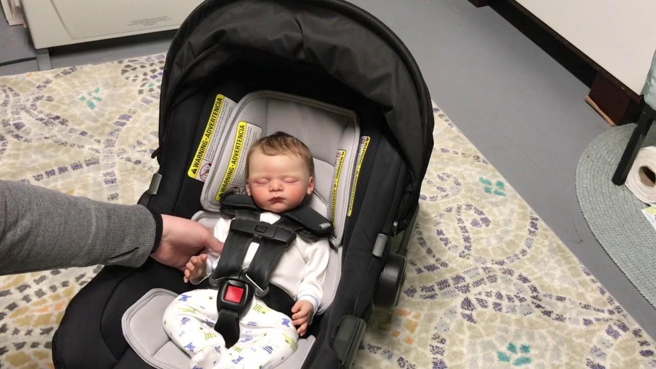 The Best Reborn Baby Car Seat Ever Reborntube Youtube
