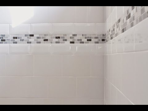 Bathroom Tile Borders Design for Home