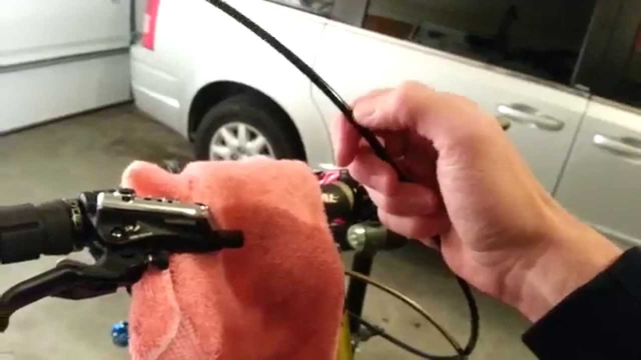 Cutting and Resizing Shimano Brake Hose