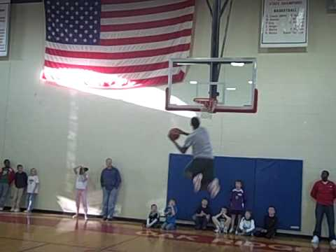 Oak Ridge Military Academy Slam Dunk Contest Pt. 1