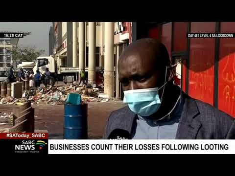 SA Unrest | KZN businessses count their losses following looting