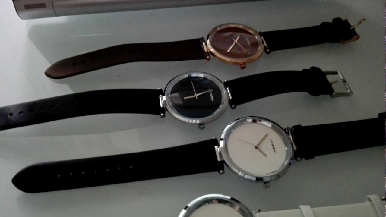 Elegans.cz  Dámské hodinky Sinobi ultra tenké   Unboxing Women s watches  Sinobi S9393 slim f5d28f8da7