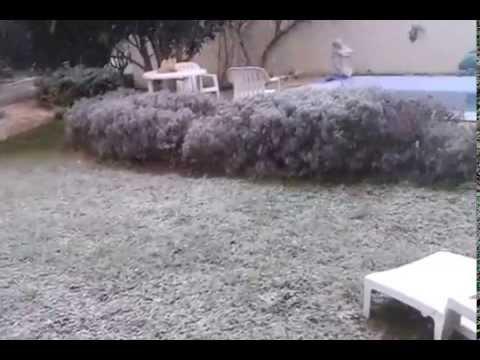 Neige sur Béziers