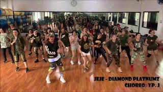 Download lagu JEJE - DIAMOND PLATNUMZ | URBAN KIZOMBA | ZUMBA | DANCE | CHOREO BY YP.J