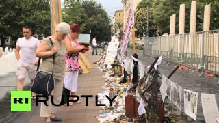 Hungary: Monument depicting Hungary as victim of Nazi Germany sparks protest