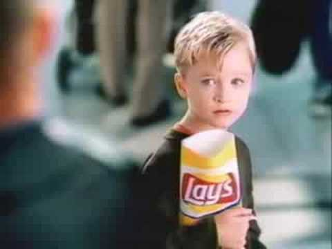 "Lays ""Messier, Just One"""