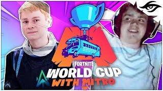 Mongraal | HOW I QUALIFIED 3X FOR THE WORLD CUP W/ MITR0 (Fortnite Duo Week 8 Finals)