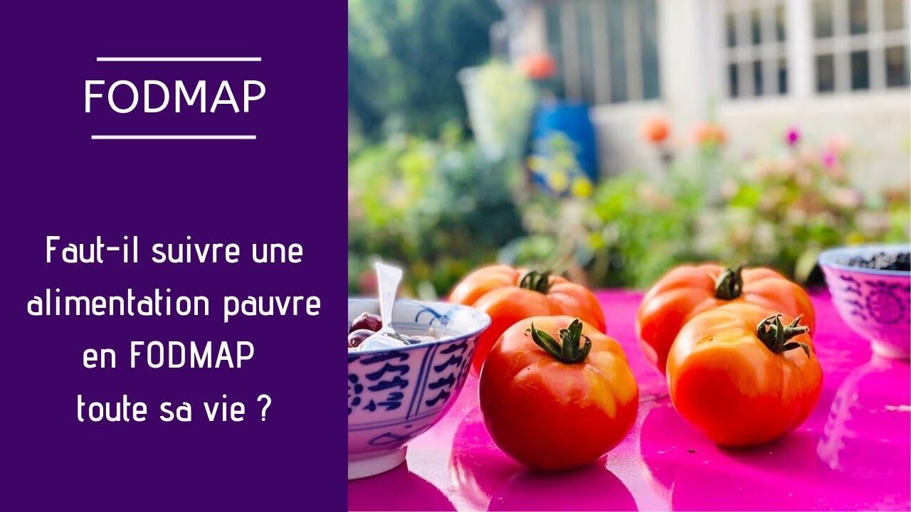 fodmap élimination régime alimentaire plan de repas