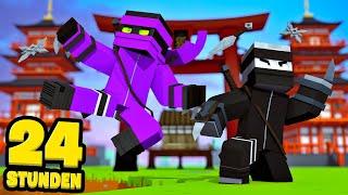 24 STUNDEN ALS NINJAS LEBEN! - Minecraft [Deutsch/HD]