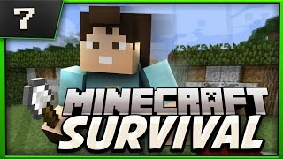 Minecraft Survival : Lets Play! Ep.7 Speed Designing!