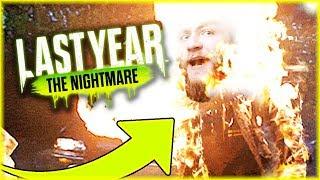 I MYK DIABEUU'A SŁABEUU'A Z MIOTACZA OGNIA | Last Year: The Nightmare [#3] #BLADII