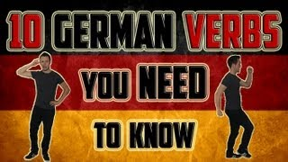 10 German Verbs You NEED To Know