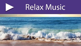 Relaxing Ocean Waves and Yoga Music for Morning Meditation on the Beach