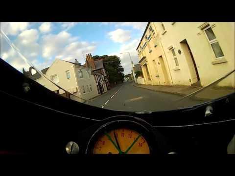 2016 Classic TT Monday 22nd Practice Session #59 Eric Lenser -  RS250 Rider PoV