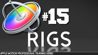 Ultra AV tarafından 15 elma Hareket Rigs - Apple Motion Mesleki Eğitim-