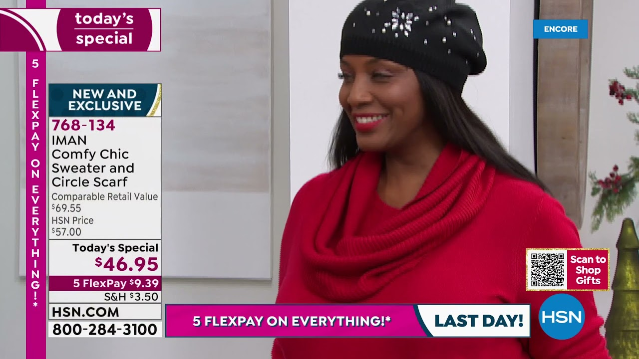 Download HSN   IMAN Global Chic Fashions 10.24.2021 - 04 AM
